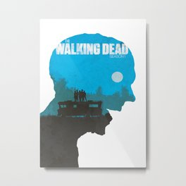 The Walking Dead - Season 1 Poster Metal Print