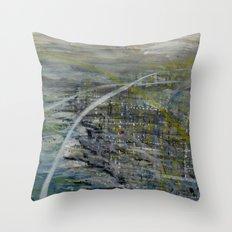 Fictional Landscape IV Throw Pillow