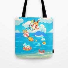 Splash Attack Tote Bag
