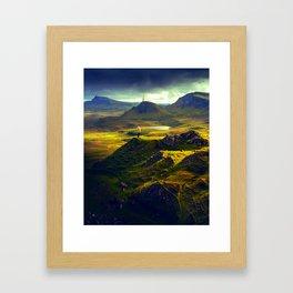 The Mountain Men at Isle Of Skye Framed Art Print