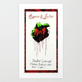 Romeo And Juliet - v.1 Love's Burden Art Print