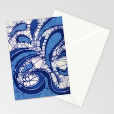 Batik Waves Stationery Cards