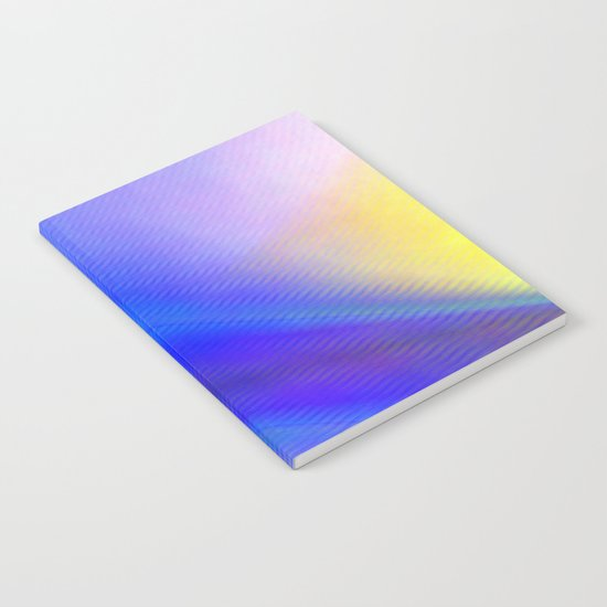 Multicolored abstract 2016 / 004  Notebook