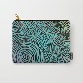 How the river flows - Zentangle Art Carry-All Pouch