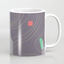 Map land color pattern Coffee Mug