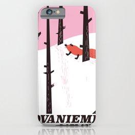 Rovaniemi Lapland iPhone Case