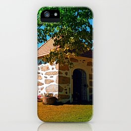 The Binder chapel (and some tree) iPhone Case