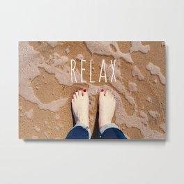 Relax Metal Print
