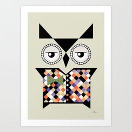 Noa the owl Art Print