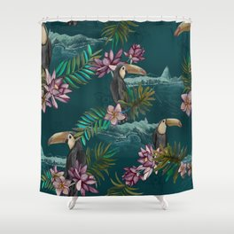 Floresta do Rio de Janeiro Shower Curtain