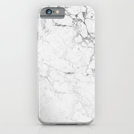 Marble Bianco iPhone Case