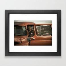 Joshua Tree Portrait 5 Framed Art Print