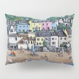 Saundersfoot, Pembrokeshire Pillow Sham