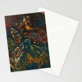 Flower Child - An Abstract Piece Stationery Cards