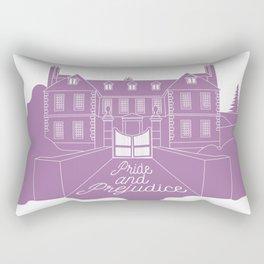 Jane Austen - Pride and Prejudice, Longbourn Rectangular Pillow