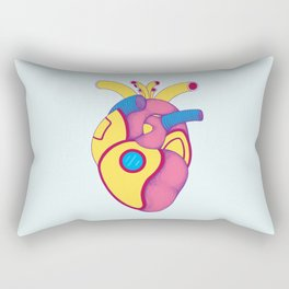 Yellow Submarine Heart Rectangular Pillow