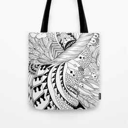 Ornate pattern Tote Bag