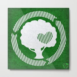 Treelove Metal Print