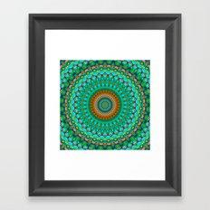 Geometric Mandala G388 Framed Art Print