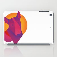 terrier iPad Cases featuring Bull terrier by Kiiki