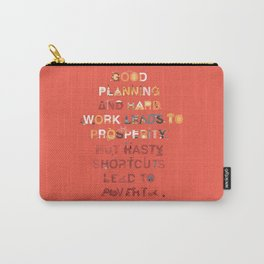 Good planning Carry-All Pouch