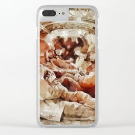 Paratroopers, World War Two Clear iPhone Case