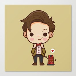 My favorite Doctor Canvas Print
