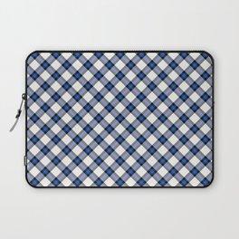 Blue Tartan Laptop Sleeve