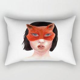 Foxgirl Rectangular Pillow