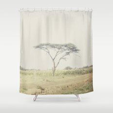 faded::kenya Shower Curtain