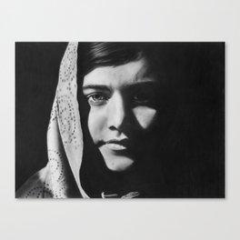 3: Rhinoceros Women Series Canvas Print