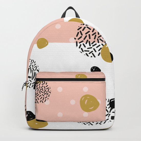 abstract pattern #society6 #homedecor Backpack