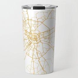 MOSCOW RUSSIA CITY STREET MAP ART Travel Mug