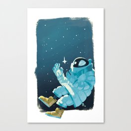 Space Hero Thirteen Canvas Print