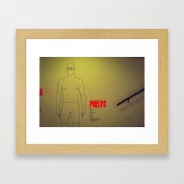PHELPS Framed Art Print