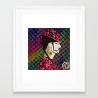 riff raff Framed Art Prints featuring RiFF RAFF by NatashaDeVita