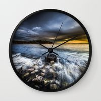 justice Wall Clocks featuring Justice by HappyMelvin