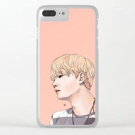 MIN YOONGI Clear iPhone Case
