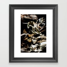 Found Ancients Framed Art Print