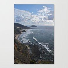 Coastal Cliff Canvas Print