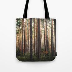 Through The Wood Tote Bag