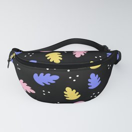 abstract leaves Fanny Pack
