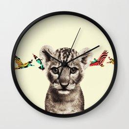 flighty cub Wall Clock