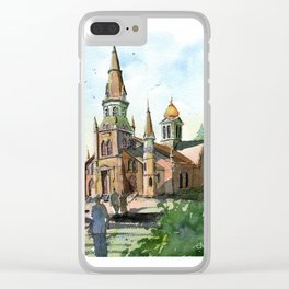 Sevier Stake Tabernacle Clear iPhone Case