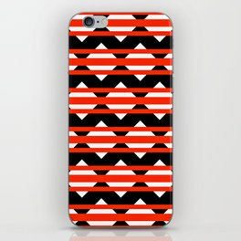 Vreugdehil Black & Red iPhone Skin