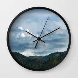 Princess Mononoke Landscape Wall Clock