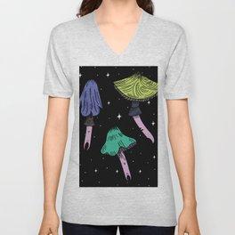 Magic space mushroom Unisex V-Neck