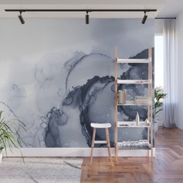 BLUE INK 88 Wall Mural