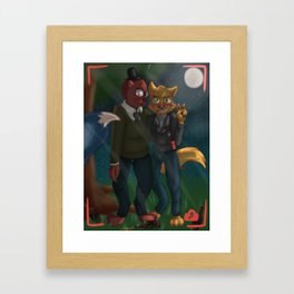 forest party Framed Art Print