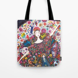 Imaginary journey – Mexico Tote Bag
